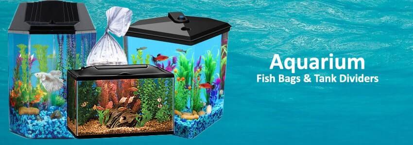 Aquarium Fish Bags & Tank Dividers