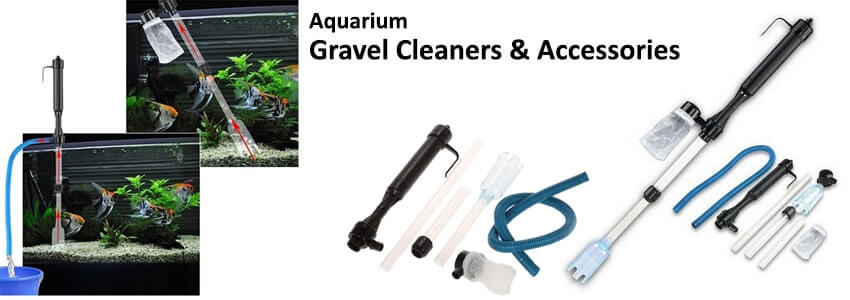Aquarium Gravel Cleaners & Accessories