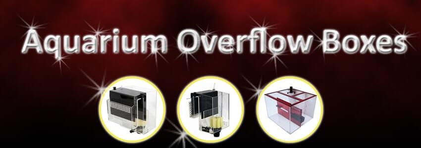 Aquarium Overflow Boxes