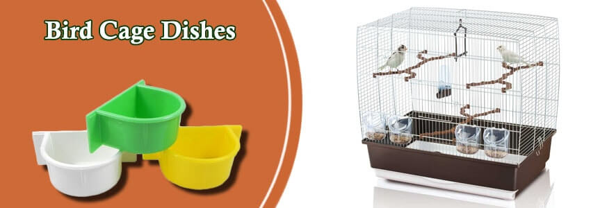 Cage Food & Water Dishes