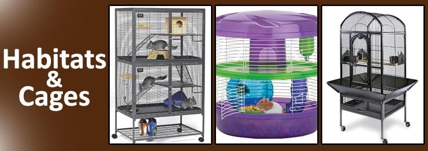 Habitats & Cages