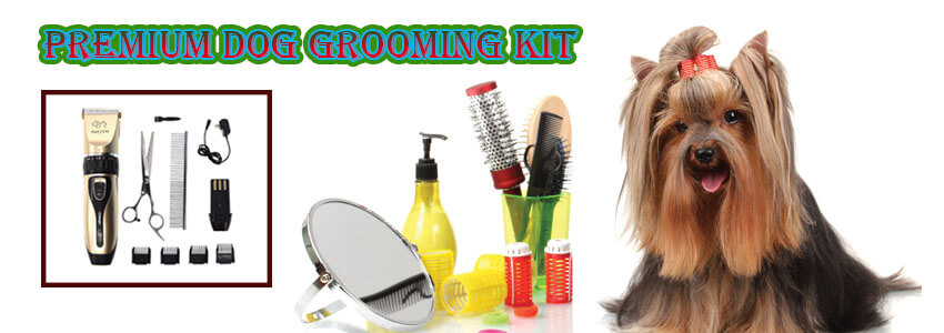 Use the premium Dog grooming kit to enhance your dog�s cuteness