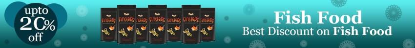 Adopt Fish by feeding the scrumptious granule fish food