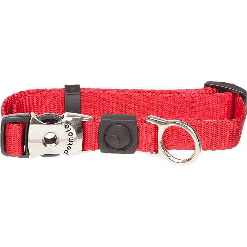 PETMATE NYLON DOG LEAD 2PLY RED