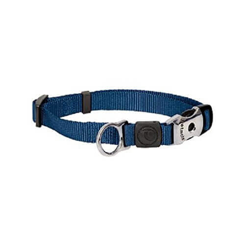 ASPEN PET NYLON ADJUSTABLE DOG COLLAR ROYAL BLUE