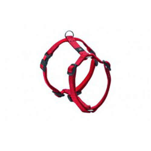 ASPEN PET NYLON DOG HARNESS RED