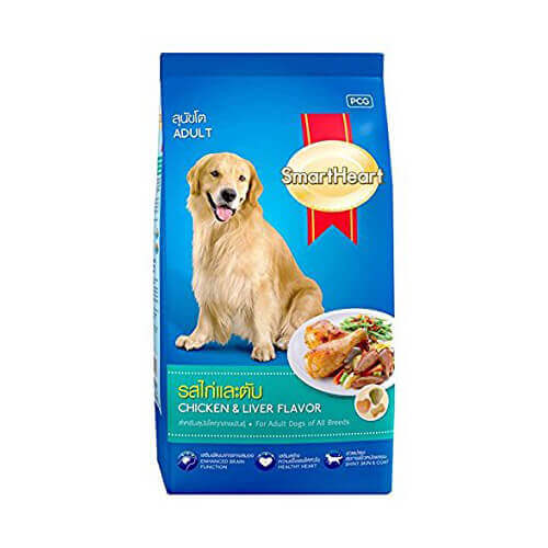 SMARTHEART CHICKEN & LIVER ADULT 3 KG DOG FOOD