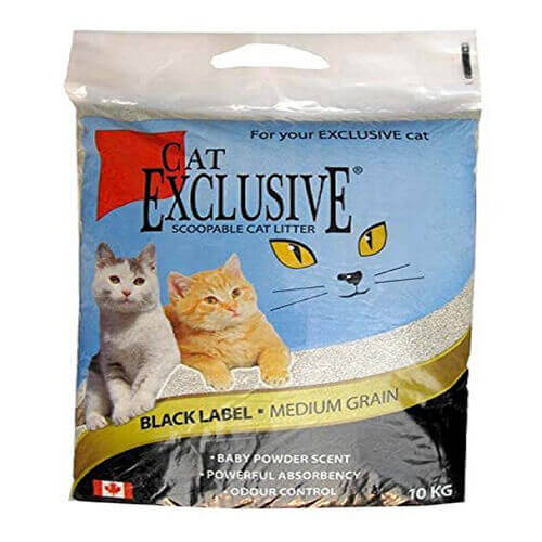 Cat Exclusive Scoopable Cat Litter 10 kg