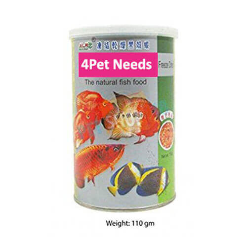 Freeze Dried Natural Fish Food
