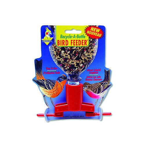 ASPEN PET PRODUCTS Bird Feeder Soda Bottle Assorted Colors
