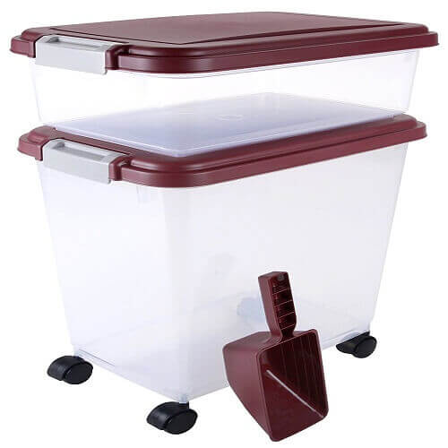 Airtight Pet Food Storage Container Combo