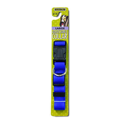 Aspen Pets Nylon Adjustable Dog Collar