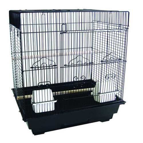 Bar Spacing SquareTop Small Pet Cage
