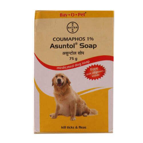 Bayer Asuntol Soap 75 GM (Pack of 4)