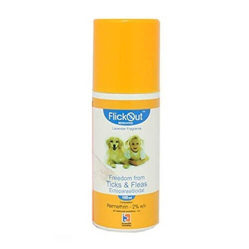 Beaphar Anti Tick and Flea Flicker spray 100 ml