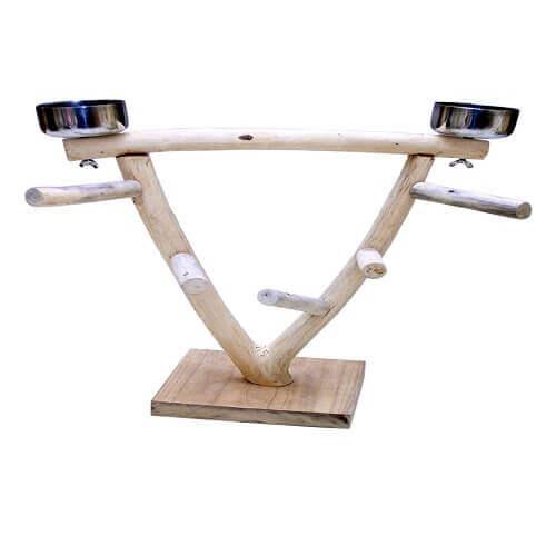 Bird Perch Stand Play Gym