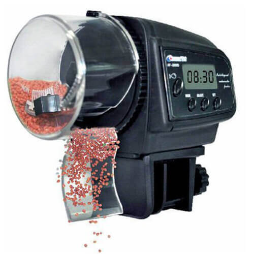 Digital Timer Aquarium Auto Fish Food Feeder
