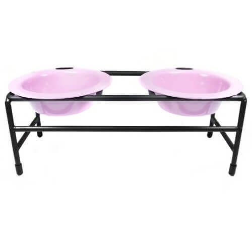 Double Diner Dog Stand