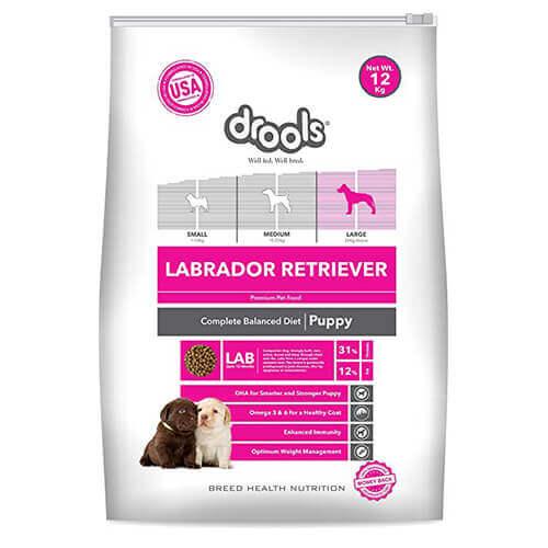 Drools Labrador Puppy Premium Dog Food- 12 KG