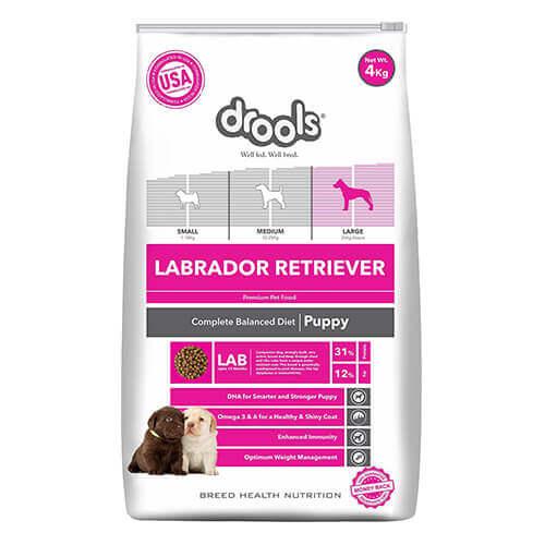 Drools Labrador Puppy Premium Dog Food 4 kg