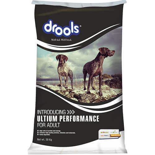 Drools Ultium Performance Adult Dog Food- 20 KG