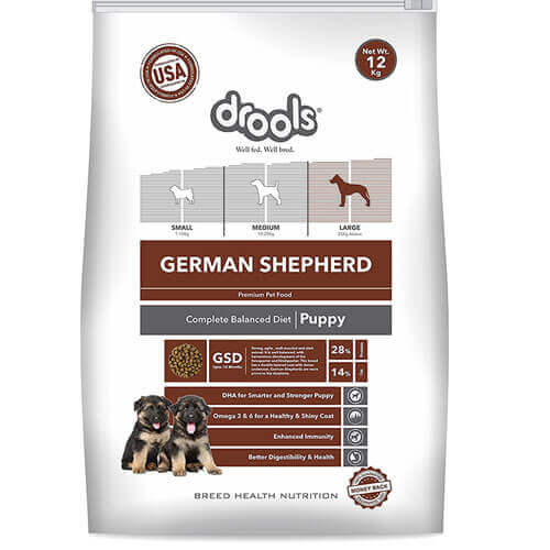 Drools German Shepherd Puppy Premium Dog Food 12 kg