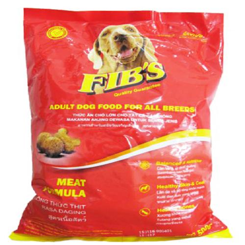 Dog Food Fibs Meat Formula 1.5 KG