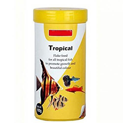 Tropical Flakes Fish Food 100 g
