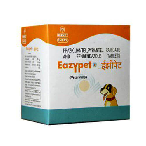 Intas Eazypet Dewormers For Dog & Cat - 10 Tablets