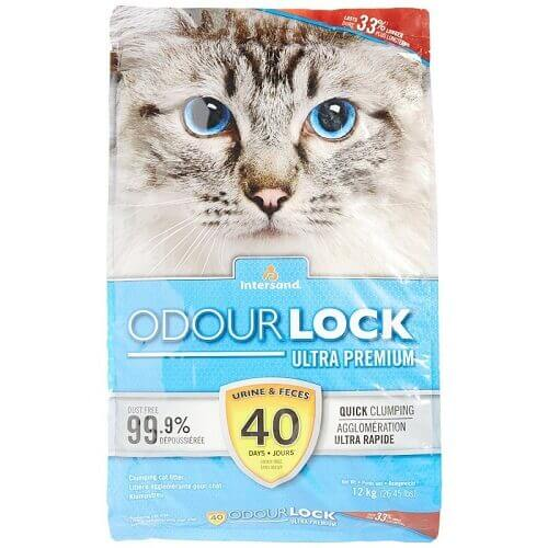 Intersand Odourlock Cat Litter 12Kg