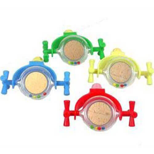 JW PET COMPANY Activitoy Bird Toy Rattle Mirror