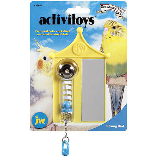 JW Pet Company Activitoy Strong Bird Small Bird Toy Colors Vary