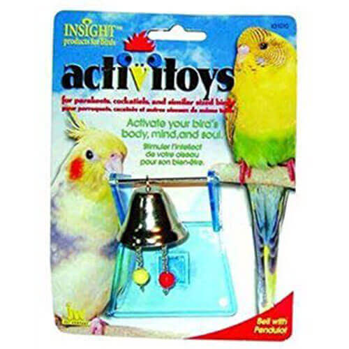 JW Pet Company Activitoys Bell with Pendulot Bird Toy