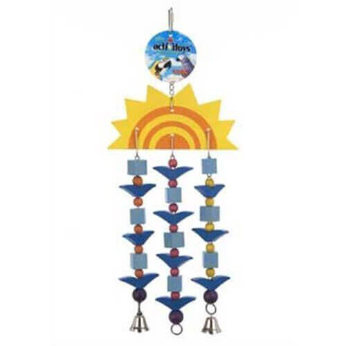 JW Pet Company Activitoys Sun Toy Triple Bird Toy Large