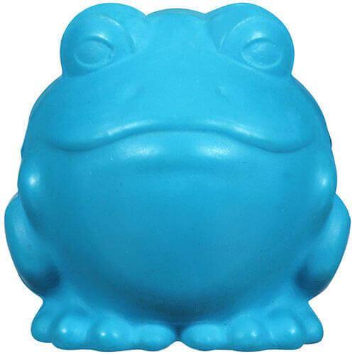 JW Pet Company Darwin the Frog Dog Toy Large Colors Vary