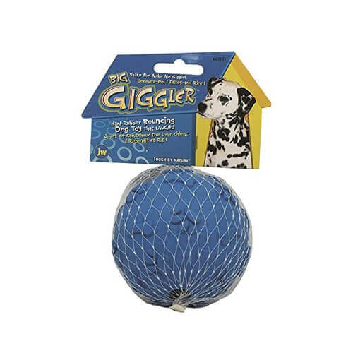 JW Pet Company Giggler Ball Dog Toy Big Colors Vary