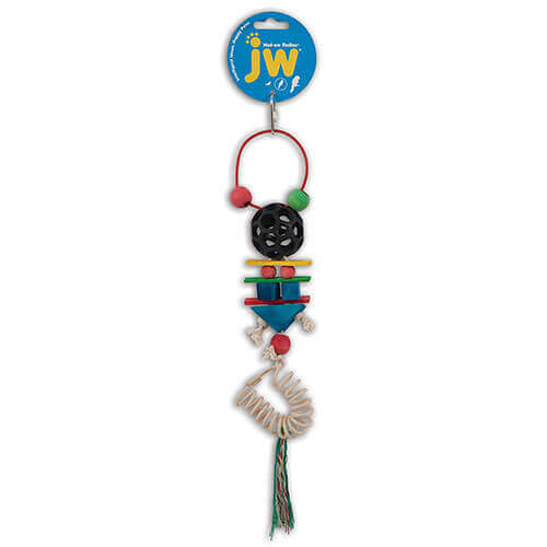JW Pet Company Hol-ee Roller Accordion Bird Toy