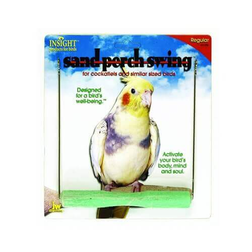 Jw Pet Company 080-31206 Jw Pet Company Insight Sand Perch Swing Regular
