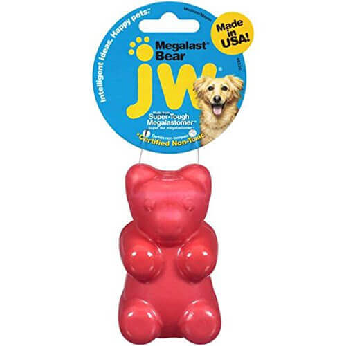 JW Pet Company Megalast Gummi Bear Dog Toy