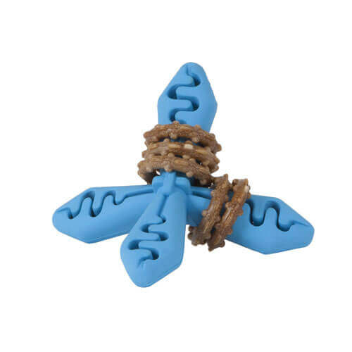 JW Pet Company Slide 'N Snacks Jack Chew Toy, Colors Vary