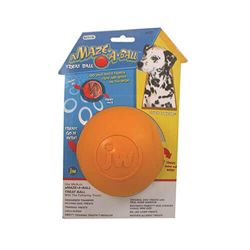 JW Pet Company Treat Puzzler Dog Toy Large Colors Vary