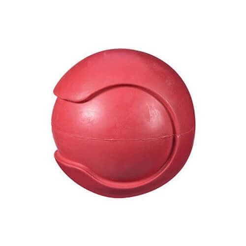 JW Pet Company iSqueak Bouncin' Baseball Dog Toy Large (Colors Vary)