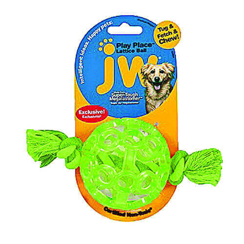 JW Pet Playplace Lattice Ball Small