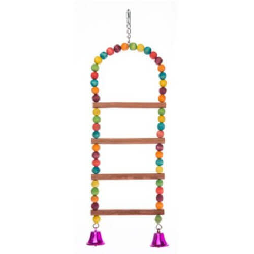 Beaded Bird Ladder