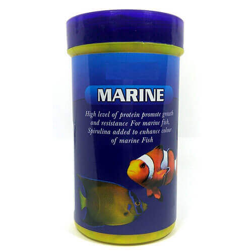 Marine Flakes Fish Food 100 gms