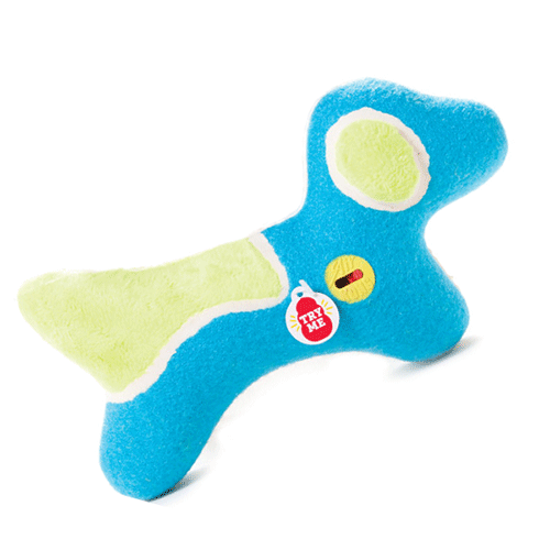 Medium Off-On Squeaker Dog Toy