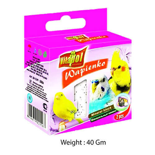 Mineral Block For Bird-Shells - 40 Gm