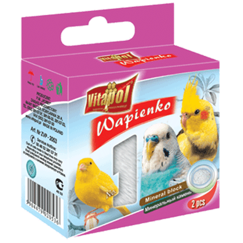 Mineral Block For Birds-Natural - 35 Gm