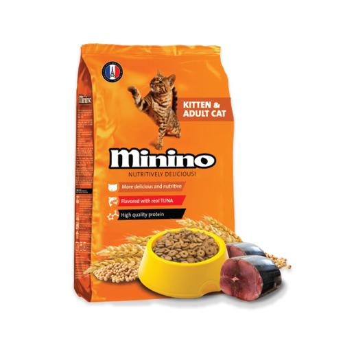 Minino Kitten And Adult Cat Food 1.3 Kg