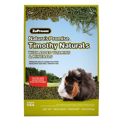 Natures Promise Timothy Naturals Guinea Pig Food